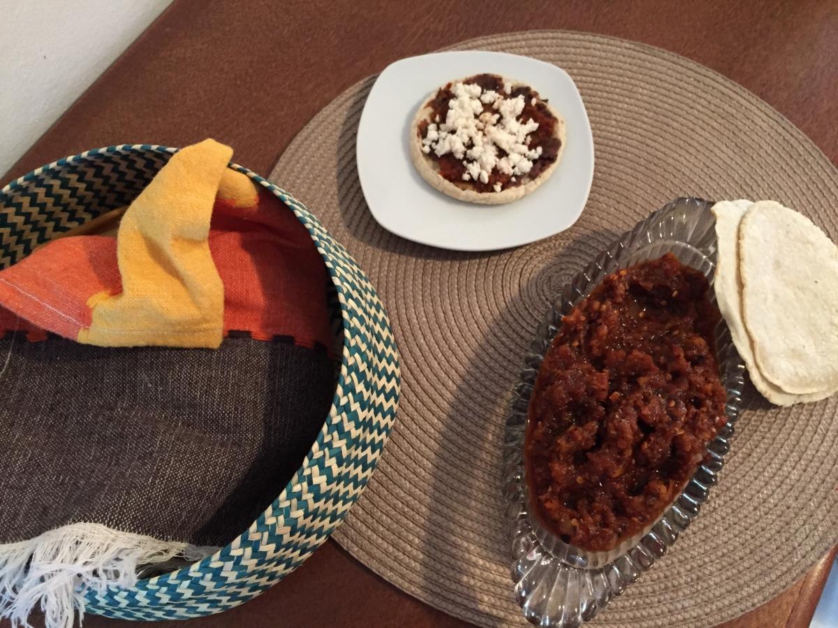 La salsa de xoconostle de mimamá