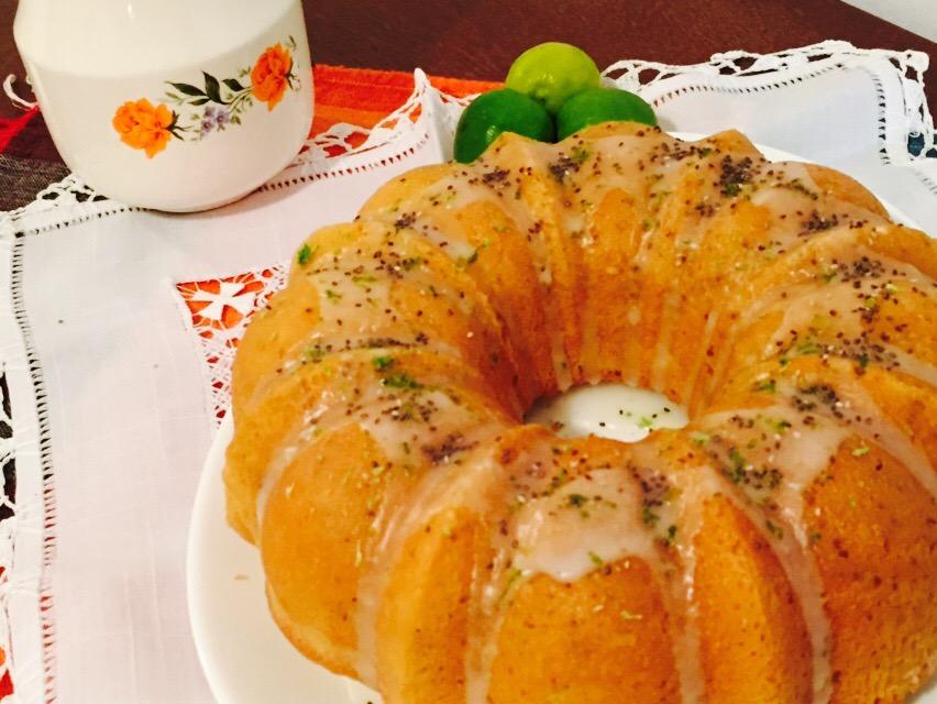 Bundt Cake de limón ychía