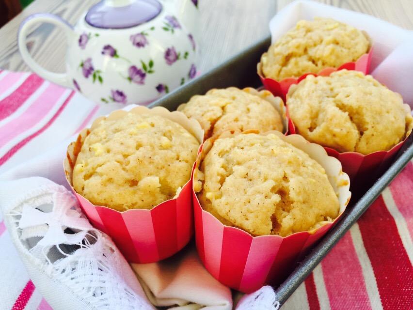 Muffins de manzana ycanela