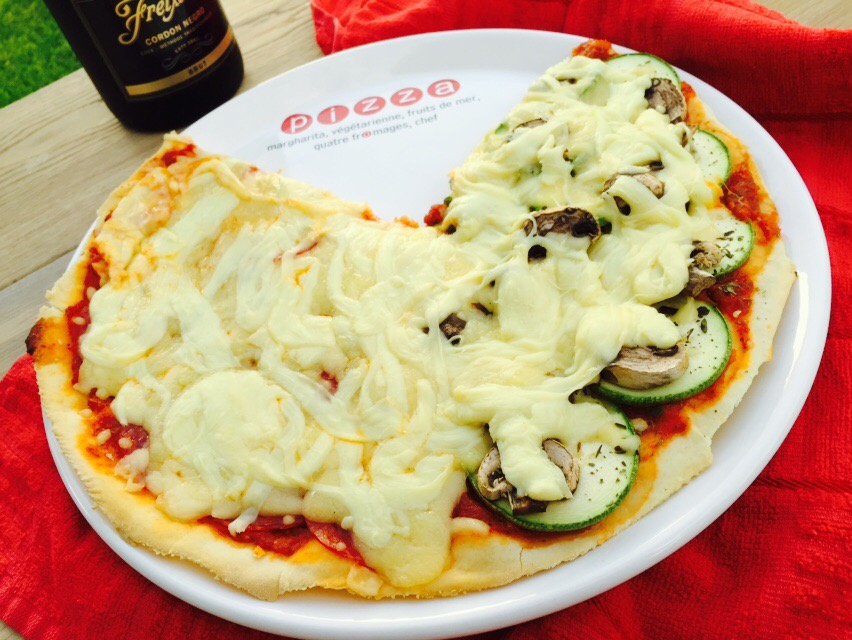 Pizza hecha encasa
