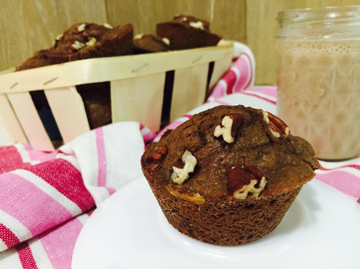 Muffins de choconuez