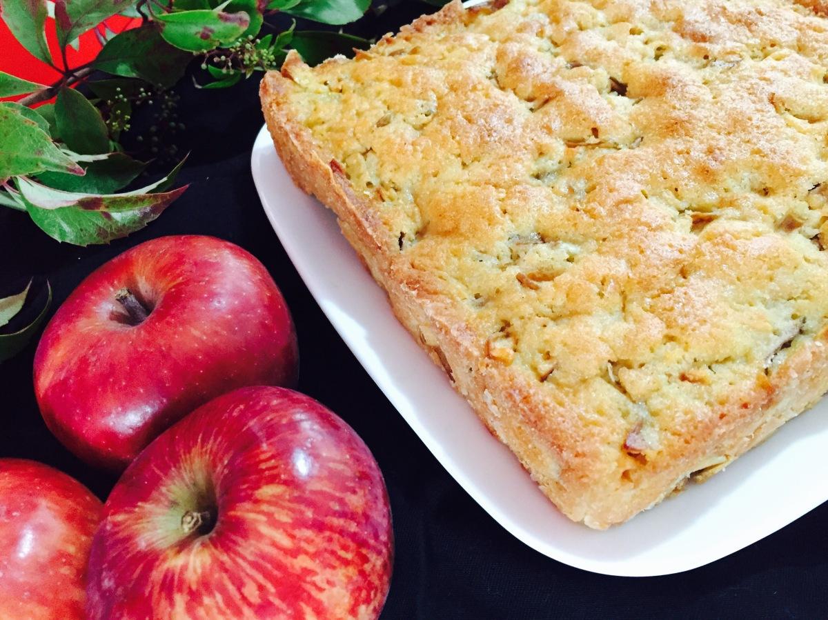 Cake de manzana y cognac