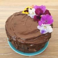 Naked cake de tostachocolate (pastel de chocolate y pan tostado) ¡2 años del blog!