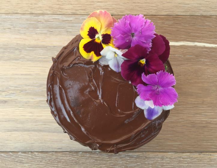 Floralchococake