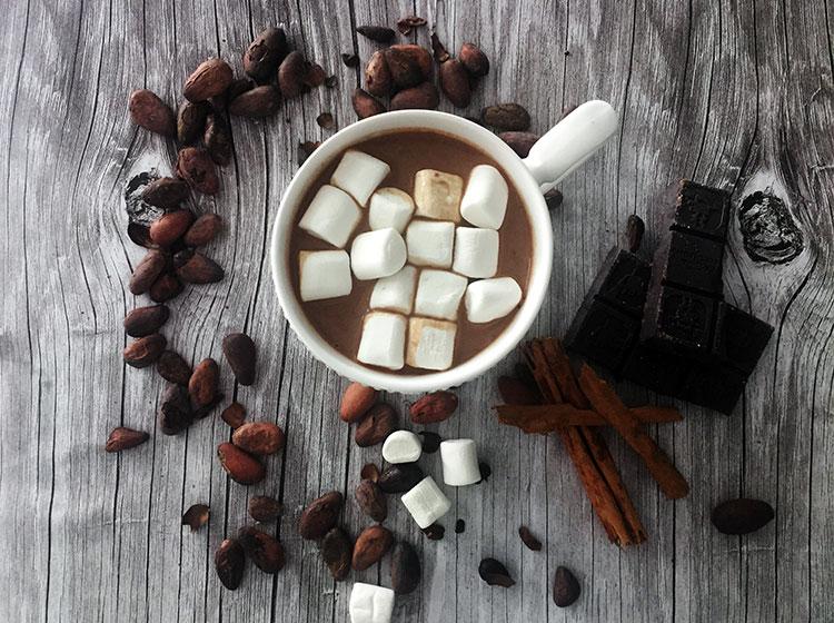 Chocolate caliente exquisito